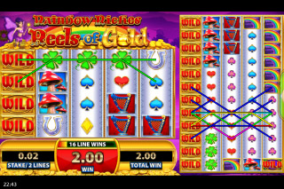 Rainbow Riches Reels of Gold Mobile Slot Fairy Bonus