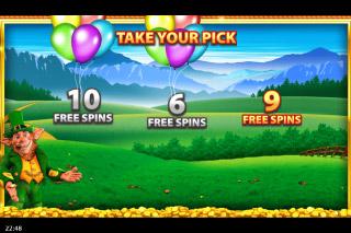 Rainbow Riches Reels of Gold Mobile Slot Pick Me Bonus
