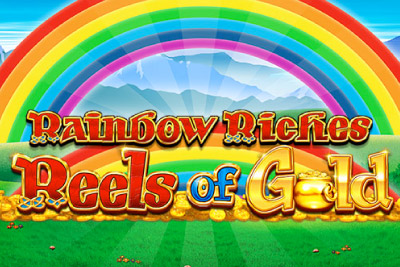 Rainbow Riches Reels of Gold Mobile Slot Logo