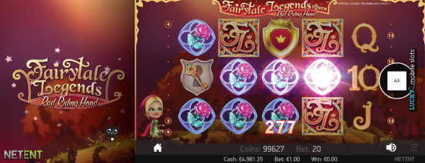 Red Riding Hood Touch Slot Bonus