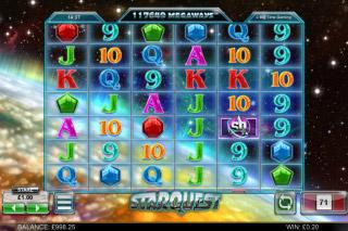 Star Quest Mobile Slot Reels