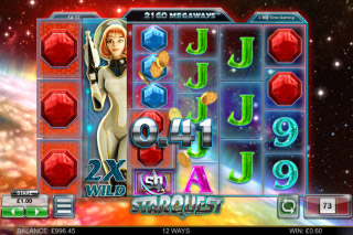 Star Quest Mobile Slot Wild Reels