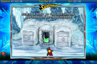 Superman Mobile Slot Bonus