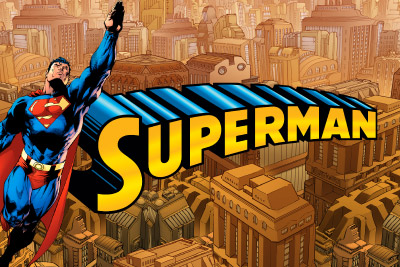 Superman Mobile Slot Logo
