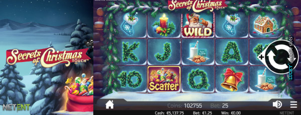 Secrets Of Christmas Touch Slot Main Game