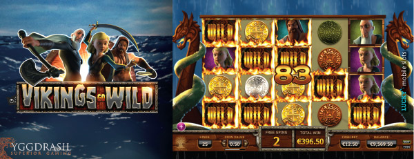 Original Vikings Go Wild Slot Machine