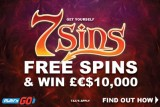 Get Casino Free Spins on New Play'n GO Slot & Win £€$10K