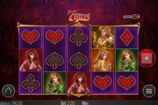 7 Sins Mobile Slot Game
