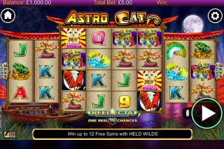 Astro Cat Mobile Slot Game