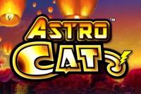 Astro Cat Mobile Slot Logo