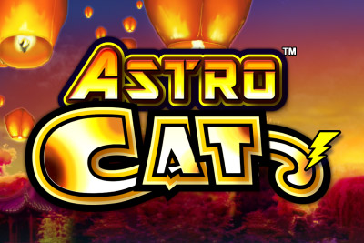 Astro Cat Mobile Slot Logo