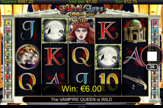 Blood Lore Vampire Clan Mobile Slot Free Spins