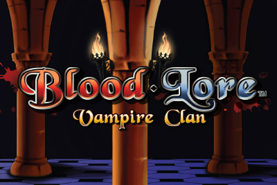 Blood Lore Vampire Clan Mobile Slot Logo