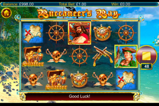 Buccaneers Bay Mobile Slot Game