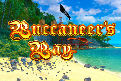 Buccaneers Bay Mobile Slot Logo