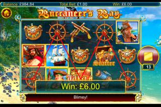 Buccaneers Bay Slot Wild Win