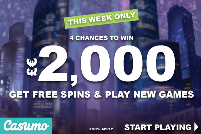 Get Casumo Free Spins, Play New Slot Games & Win Reel Races