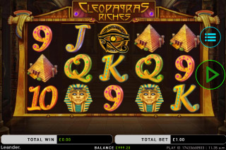 Cleopatra's Riches Mobile Slot Game