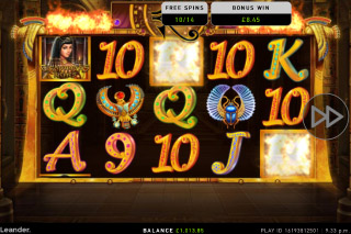 Cleopatra's Riches Mobile Slot Free Spins