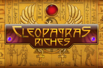 Cleopatra's Riches Mobile Slot Logo