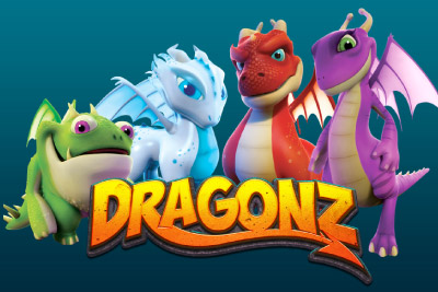 Dragonz Mobile Slot Logo