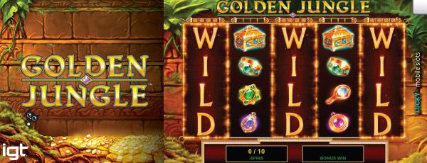 New Golden Jungle Mobile Slot Bonus Games