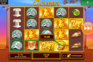 Goldify Mobile Slot Free Spins Bonus
