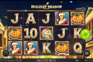 Holiday Season Mobile Slot Game