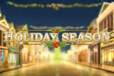 Holiday Season Mobile Slot Logo