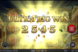Holiday Season Mobile Slot Ultra Big Win