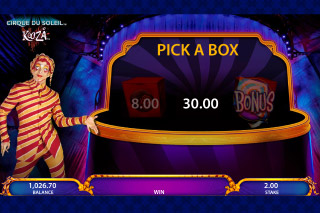 KOOZA Mobile Slot Box Bonus