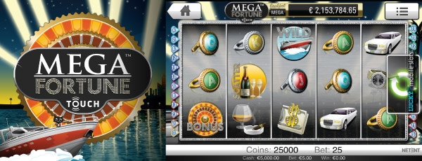 Mega Fortune Mobile Slot Machine