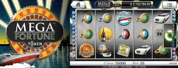 online mobile casino mega fortune