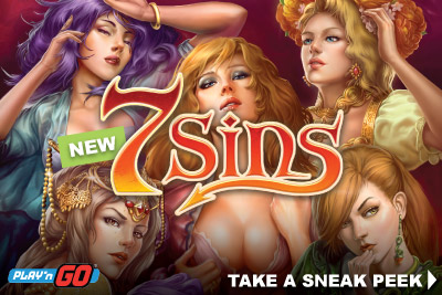 New Mobile Slot 7 Sins By Play'n GO Coming Nov 24th 2016
