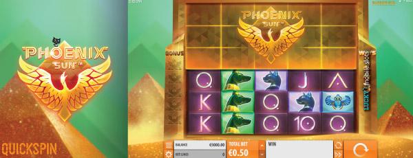 New Phoenix Sun Slot