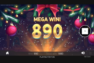 Secrets of Christmas Mobile Slot Mega Win