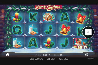 Secrets of Christmas Mobile Slot Game