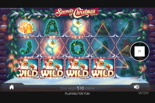 Secrets of Christmas Slot Random Wilds