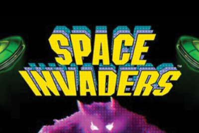 Space Invaders Mobile Slot Logo