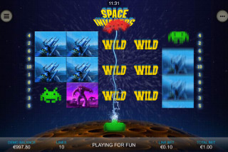 Space Invaders Mobile Slot Wilds