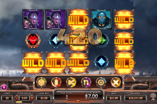 Super Heroes Mobile Slot Free Spins