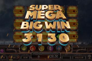 Super Heroes Mobile Slot Mega Win
