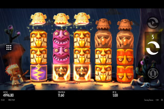 Turning Totems Mobile Slot Bonus Game