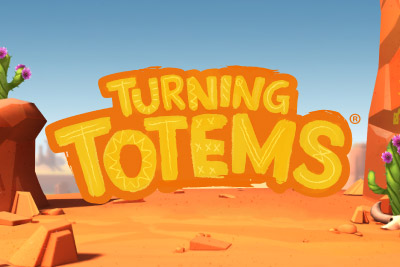 Turning Totems Mobile Slot Logo