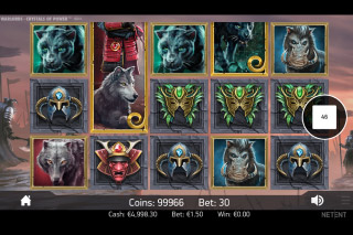 Warlords Crystals Of Power Mobile Slot Game Reels