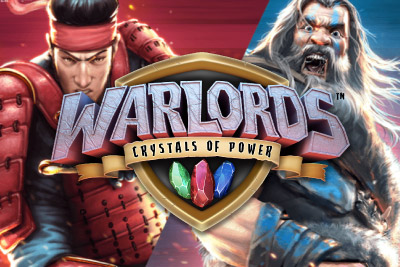 Warlords Crystals Of Power Mobile Slot Logo