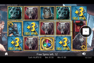 Warlords Crystals Of Power Mobile Slot Barbarian Free Spins