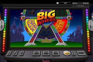Big Wheel Mobile Slot Bonus Games Wheel