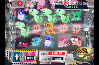 Buster Ghost Mobile Slot Game
