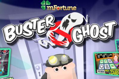 Buster Ghost Mobile Slot Logo
